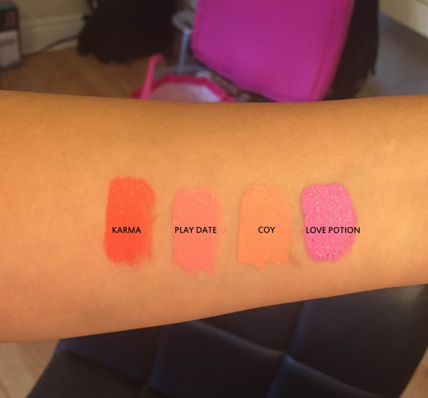 Dose of Colors Lipstick Swatches